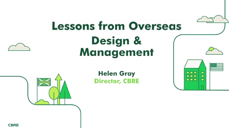 Lessons from Overseas Part 2: Amenities, Design and Management