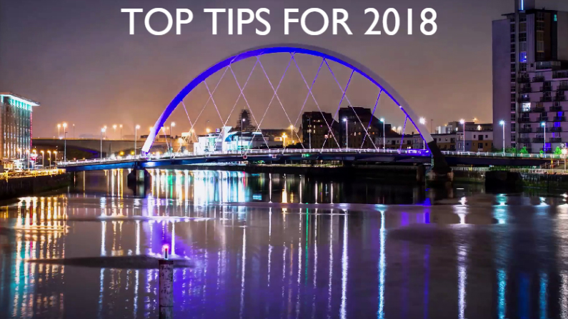 CBRE Top Tips for 2018